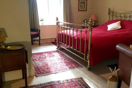 Super King En-suite Room - Glasbury - Bed & Breakfast