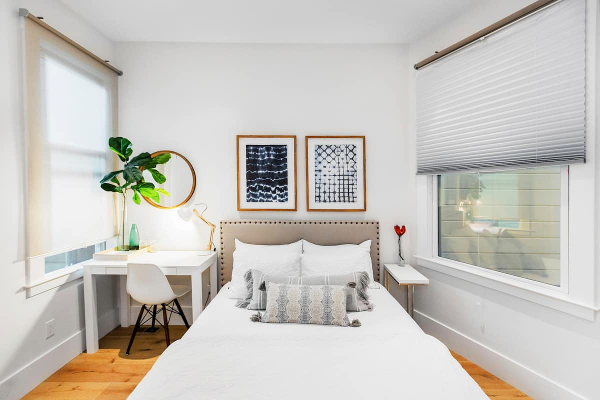 Explore Valencia Street from a Clean Room in a Serene Condo