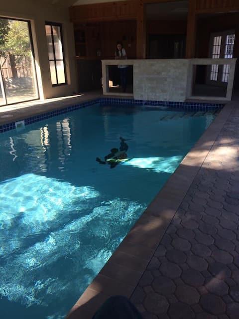 Tranquil Guest Suite w/24/7 Indoor Salt Water Pool