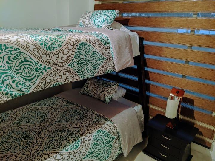 Casa GO - Cama en habitación compartida