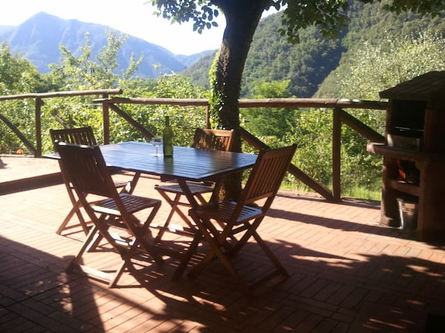 Tuscan Farmhouse -Spectacular Views - Borgo a Mozzano