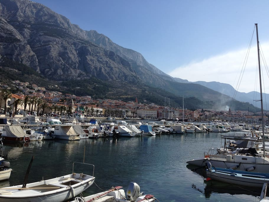 Makarska center, 380 m from apartment