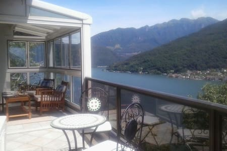 Morcote (Lugano) - Beautiful Lake View - Morcote - Lejlighed