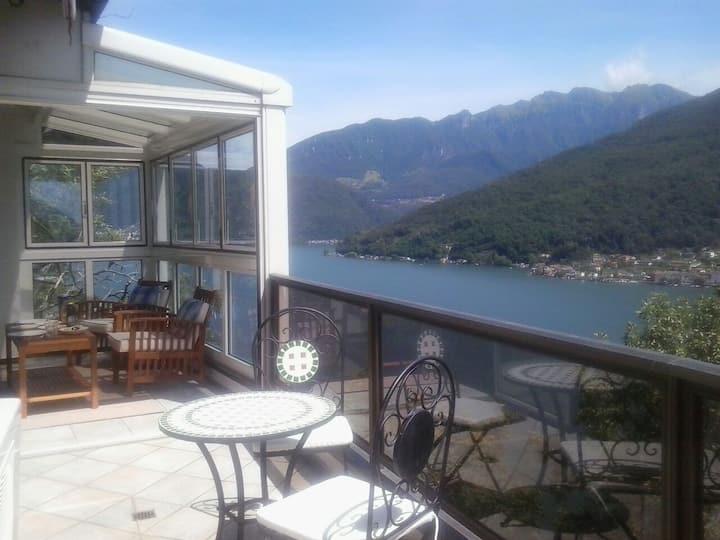 Fabulous Lake View - Morcote (Lugano)