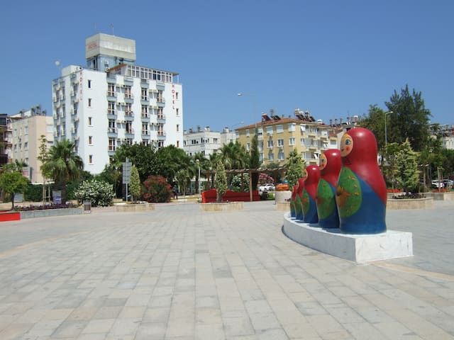 the bast holiday location in antalya konyaaltı