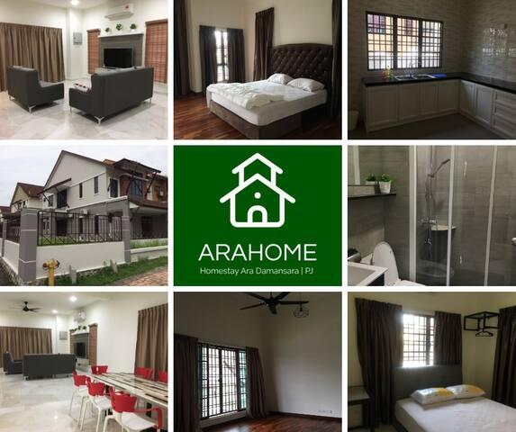 温馨舒适民宿 Spacious Clean Cozy Petaling Jaya Homestay