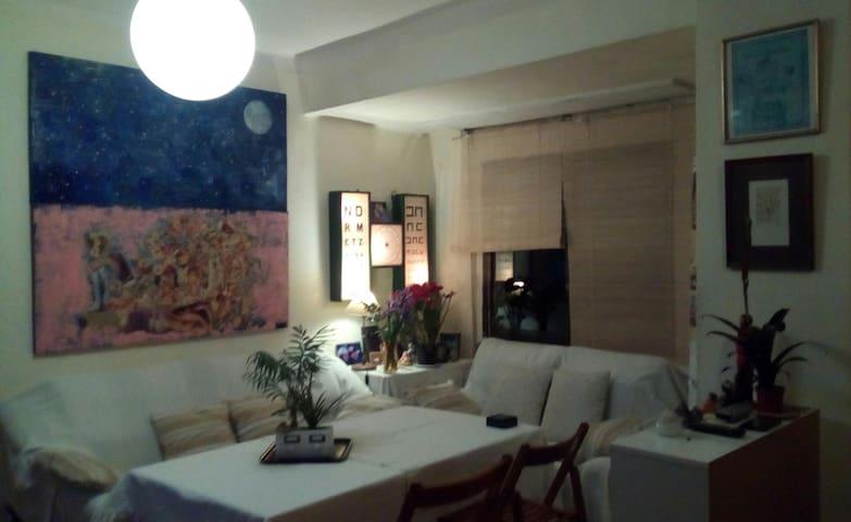 Habitación en piso acogedor barrio del Realejo.