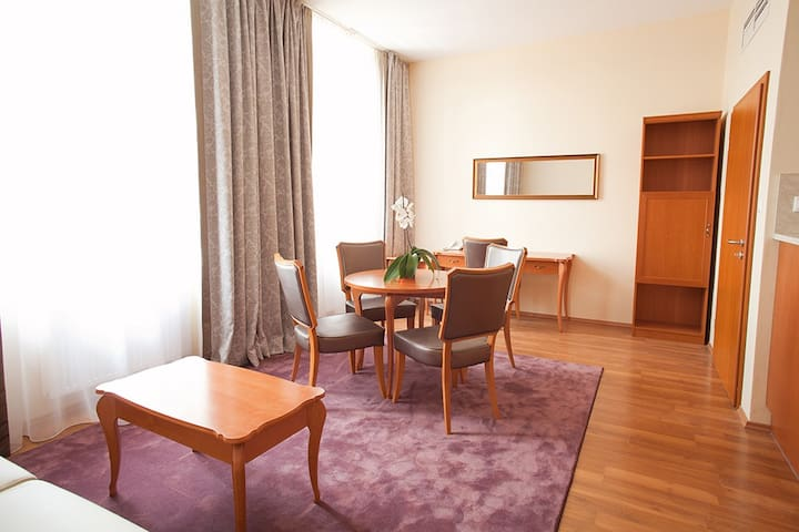 Liszt Apartman - nappali