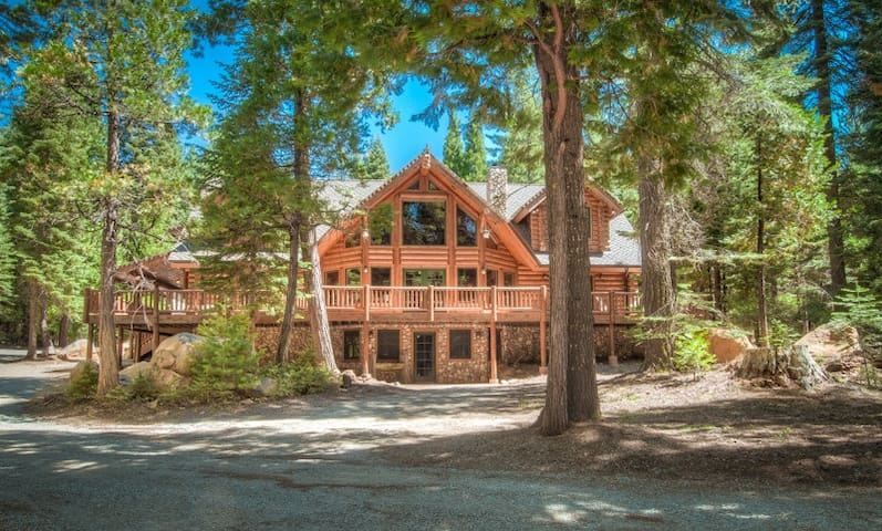 5 star Secluded Luxury Log Home  - Shingletown