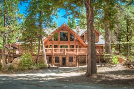 5 star Secluded Luxury Log Home  - Shingletown - Haus