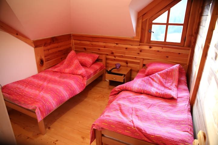 Soul healing, cottage room