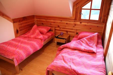 Soul healing, cottage room