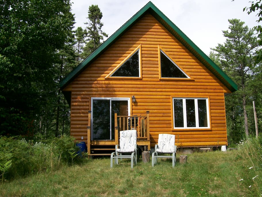 The Black Lake Cabin Quebec Chalets For Rent In L
