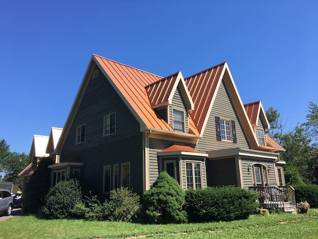 Copper Roof House