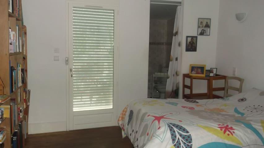 Chambre avec salle d'eau - Vic-Fezensac - Hus