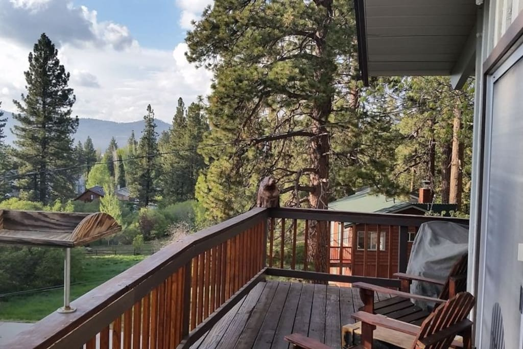 Beautiful views from the bears den cabins for rent in for Cabin rentals big bear lake ca