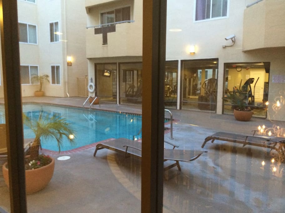 Pool and Hot Tub accessible 24/7