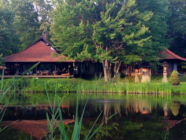 Hudson Valley  Bali House Retreat