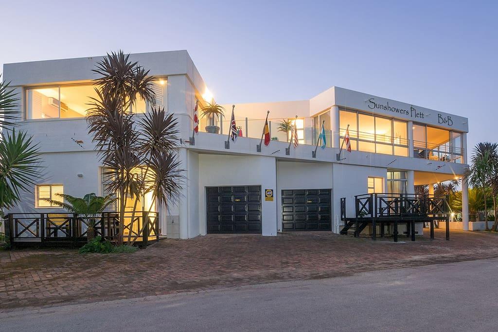 Sunshowers Plett Guest house as a whole
