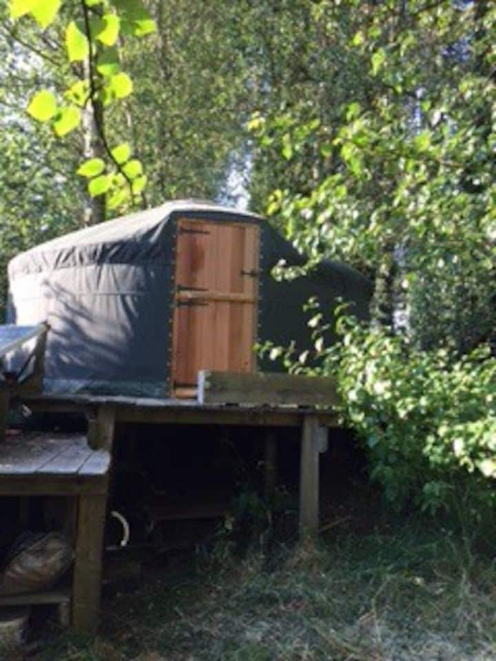 5* Yurt near Bath