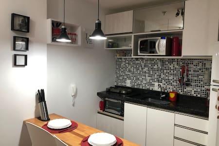 Apartamento de 1 quarto, amplo e diferenciado!