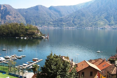Modern Studio Bijou over Lake Como - Sala Comacina - Apartmen