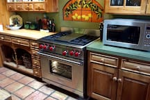 Brand brand-new Wolf range with stovetop grill