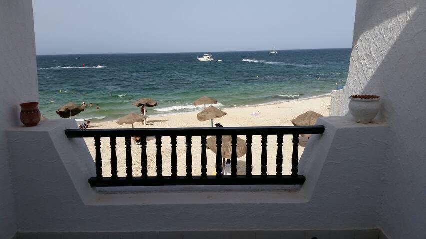 Appart front de mer à El Kantaoui - Hammam Sousse - Leilighet
