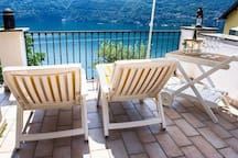 Welcome to my house! Get on the terrace, take a breath, relax and enjoy the unique and beautiful landscape of Lake Como.