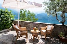 Another space for your relax between the olive tree and the lake