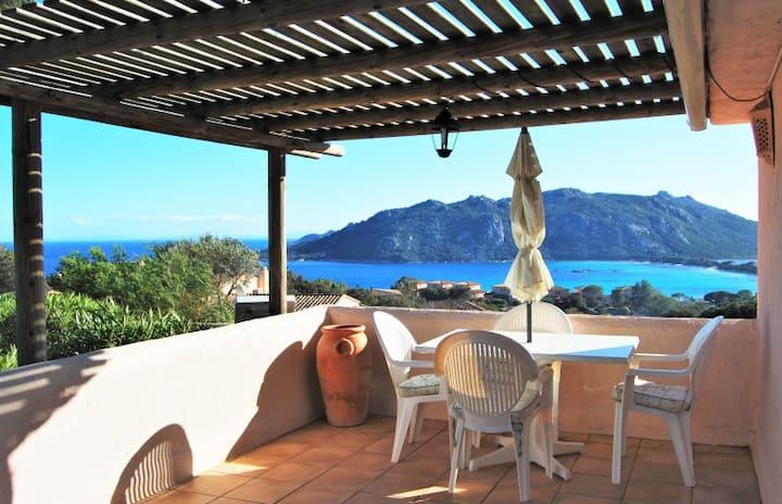 Villa 1chambre PISCINE 800m de la plage Sta GIULIA