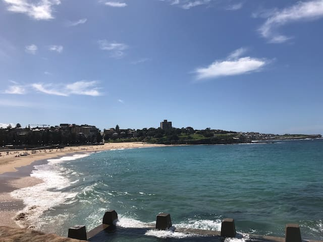Lovely private room at Coogee beach