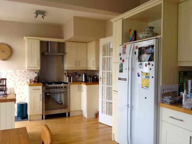 2BD loft in comfy Victorian home - Glasgow - Casa