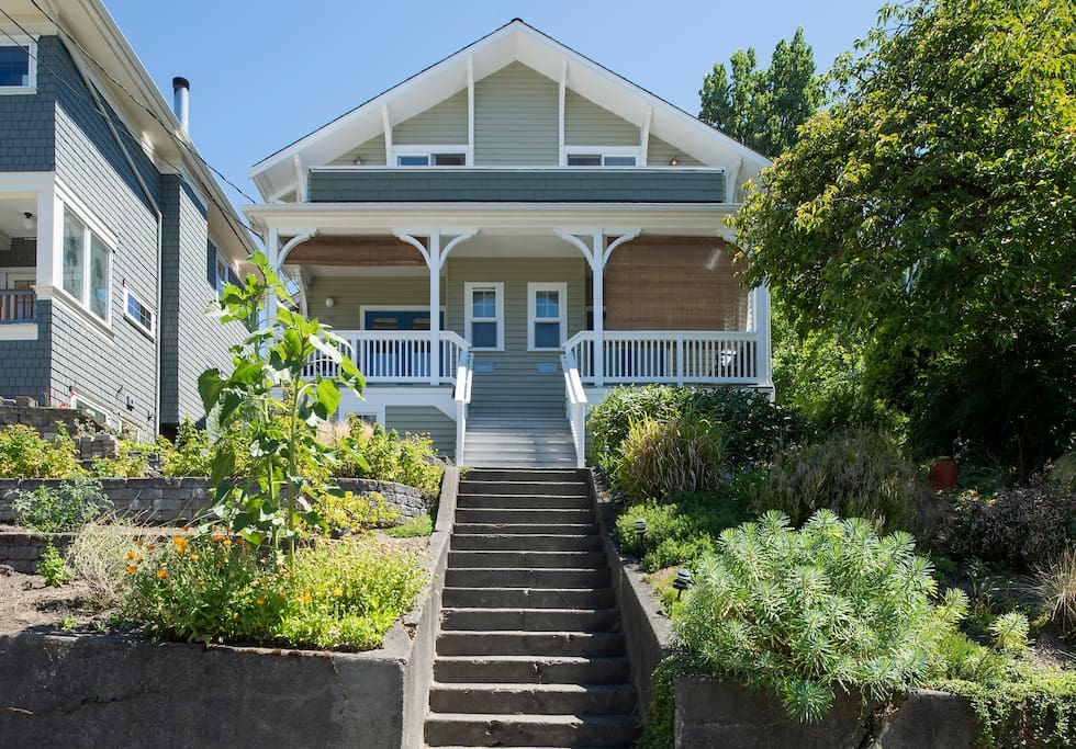 Beautiful remodeled home on quiet street near to transit and much more.