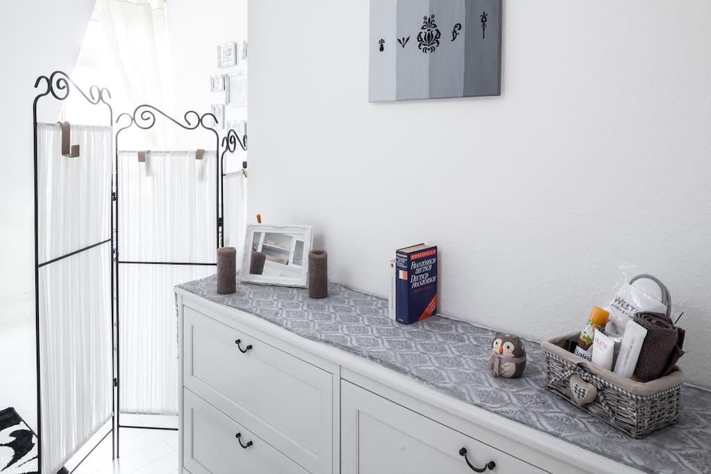 part of your guestroom