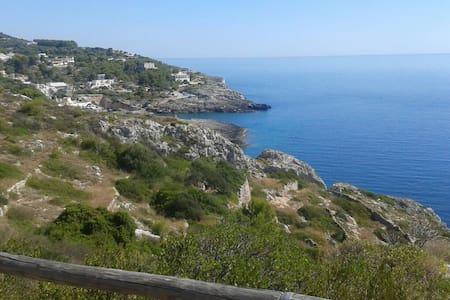 Accogliente bilocale sul mare - Novaglie, Puglia, IT - Apartment