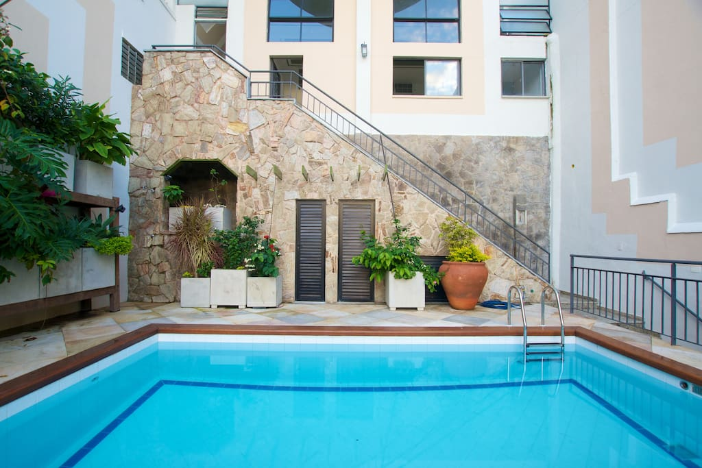 Pool, garden and common areas