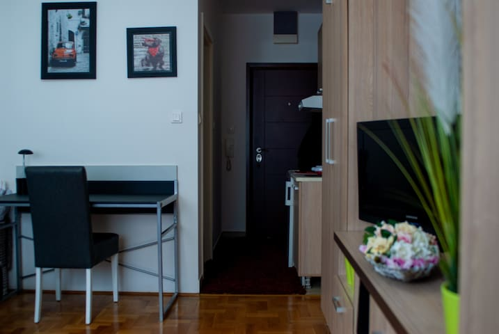 Red Chair Apartment - cozy studio in city center.