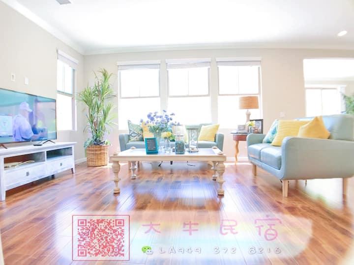 忻悦 · 3房2.5卫独栋别墅,尔湾中心,高端家私寝具,厨房用品一应俱全,园区配套设施完善