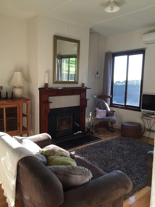 Sun filled lounge room