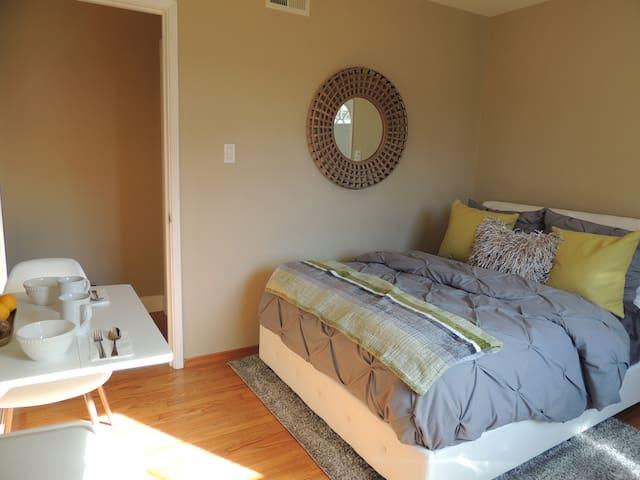 New Private suite,  close to SFO & Biotech Hub