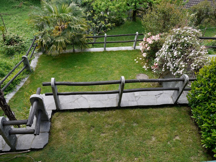 Garten Südseite