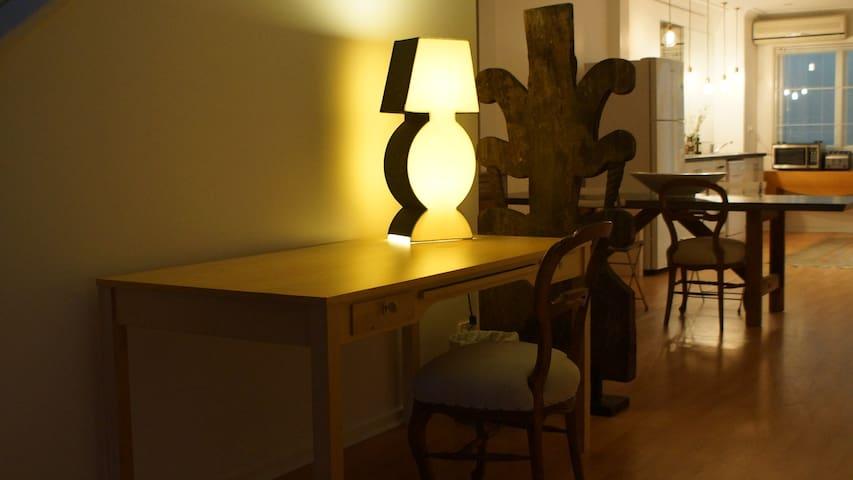 Downstairs Desk
