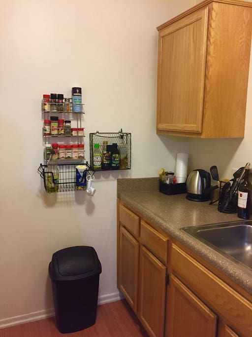 Kitchen With Full Amenities