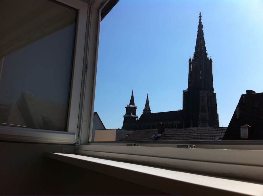 Ulm cathedral next-door