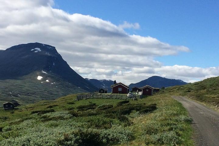 Idyllisk støl/seter i Smådalen/Valdres, 1100 moh.