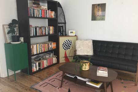 Big bright one-bedroom apartment