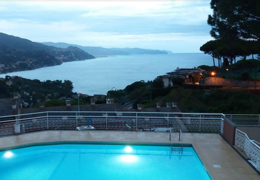 View from the Pool / Vista dalla Piscina