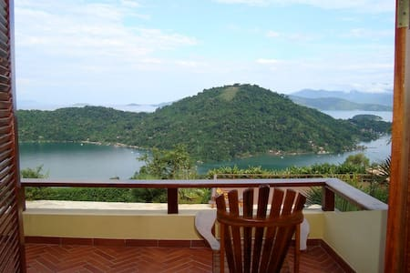 House in Paraty with marvelous view