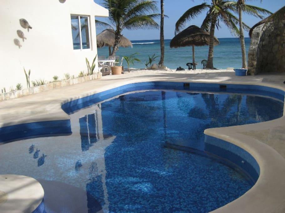Freshwater pool.
